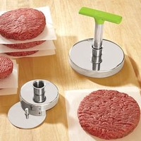 2-in-1 Burger Press & Wax Papers @ Fresh Finds