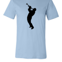 trumpet player1 - Unisex T-shirt