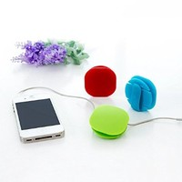 Universal Cable Winder Cord Organizer Manager with Clip