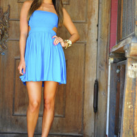 It's Meant To Be Dress: Caribbean Blue   Hope's