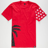 Blvd Swag Mens T-Shirt Red  In Sizes