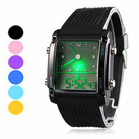 Mens Casual Sports Watch Unisex Digital Watches Womens Best Gift