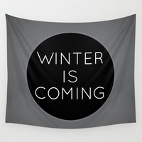 Winter is..... Wall Tapestry by Page394