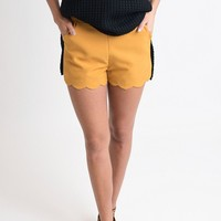 Must Have These Mustard Shorts