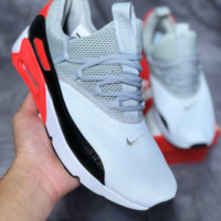 DCCK N453 Nike Air Max 90 EZ Mesh Sneakers Grey Black Red