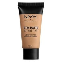 NYX Stay Matte But Not Flat Liquid Foundation - Tan - #SMF09
