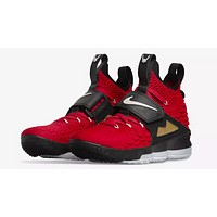 Nike LeBron 15 Red Diamond Turf