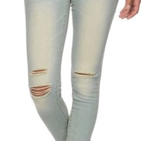 Empyre Logan Nouveau Sunbleach Destroyed Jeggings