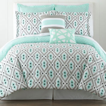 jcpenney | Happy Chic by Jonathan Adler Nina 3-pc. Comforter Set and Accessories