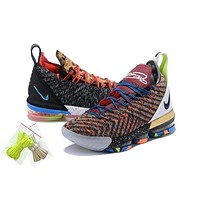 Nike LeBron James 16 XVI Top 3 Basketball Shoe US7-12