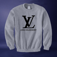 Lord Voldemort Harry Potter Deathly Hallows Inspired Sweatshirt