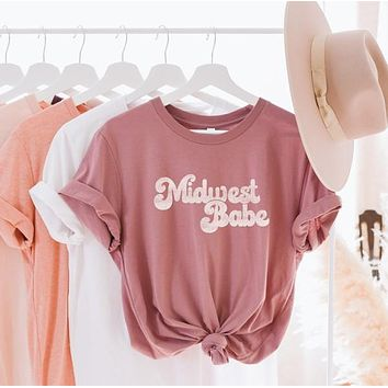 Midwest Babe Graphic Tee