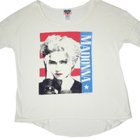 Madonna Vintage Women's Shirt by Junk Food | OldSchoolTees.com