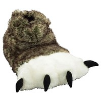 Wolf Paw Adult Slippers