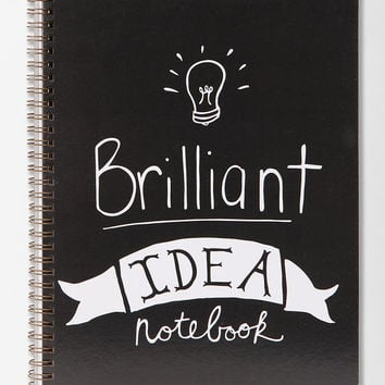 Urban Outfitters - Spiral Notebook - Brilliant Idea