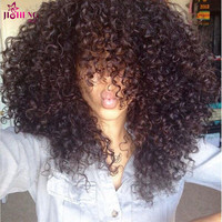 8A Indian Virgin Hair With Closure 3Pcs Indian Deep Curly With Closure