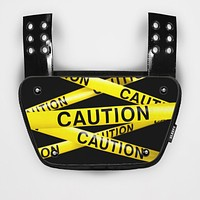 Caution Tape Sticker for Back Plate