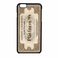 Harry Potter Ticket iPhone 6 Case