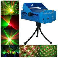LED R&G Laser Projector Stage Lighting Disco DJ Party Bar Club Effect Light New = 1946710596