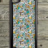 Pug Pattern iPod 5 Touch Case