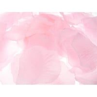 Solid Faux Rose Petals Table Confetti, 400-pack, Light Pink