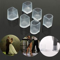 2 pairs/lot High Heel Protectors Latin Stiletto Dancing Covers Heel Stoppers Antislip Silicone High Heeler for Wedding Shoes