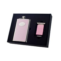 Visol Supermodel 8oz Flask and Zippo Lighter 200