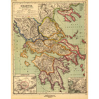 Ancient Greece Art Poster 16in x24in