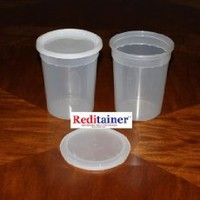 Reditainer 24 oz. Deli Food Containers w/ Lids - Pack of 30 - Food Storage