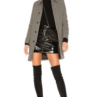 A.P.C. Soho Jacket in Faux Noir | REVOLVE