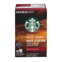 Starbucks Salted Caramel Hot Cocoa Keurig Hot K-Cup Pods - 10 CT - Walmart.com