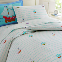 Olive Kids Pirates Twin Duvet Cover - 76415