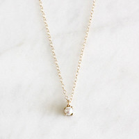 14k akoya pearl necklace