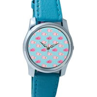 Bubblegum Quirky Pattern Wrist Watch