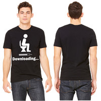 Downloading - funny T-shirt