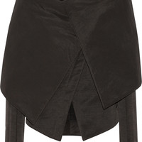 Gareth Pugh - Cape-effect cotton-blend faille jacket