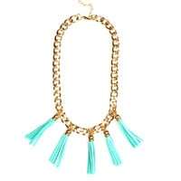 In Chains Tassle Necklace