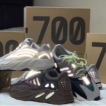 Adidas Yeezy 700 Runner Boost Fashion Casual Running Sport Shoes-9