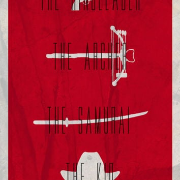 The Walking Dead Minimalist Poster