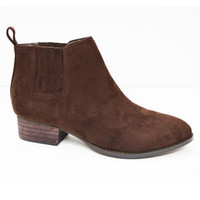 Winter Weather Booties - Brown