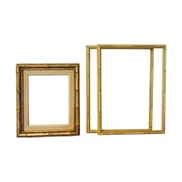 Pre-owned Faux Bamboo Frames - Set of 3
