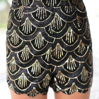Golden Girl Shorts (black)