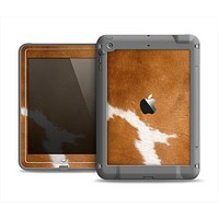 The Real Brown Cow Coat Texture Apple iPad Air LifeProof Fre Case Skin Set