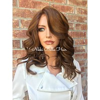 Mary Brown Balayage Lace Wig 12""