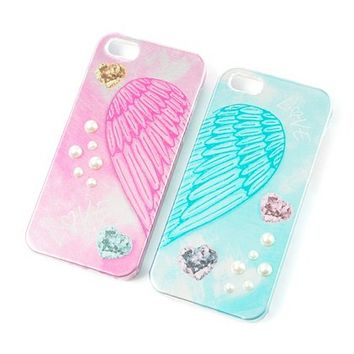 Best Friends Angel Wings iPhone 5 Covers   Claire's