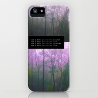 and i told you.  iPhone & iPod Case by Sara Eshak