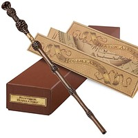 universal studios dumbledore from harry potter interactive wand new with box