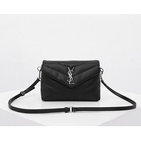 ysl women leather monnogam handbag crossbody bags shouldbag bumbag 2