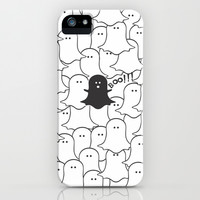 Little Ghost iPhone & iPod Case by Louise Machado