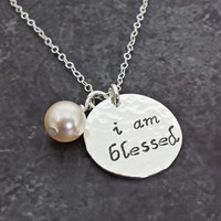 I Am Blessed Necklace